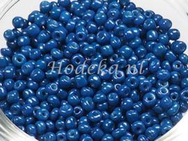 CNR08/24   Rocailles 50 gr. Blauw  8/0