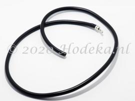 RKK01 Rubberen ketting met sluiting ca. 60cm