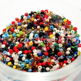 CRP11/86a  50 gram Preciosa Rocailles 11/0 mix