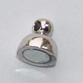 BMS01   1 x magneetsluiting Rond 11 x 6 mm