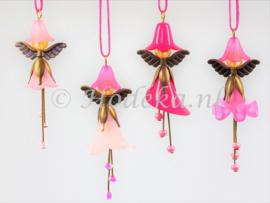FFP30  Flower Fairies pakket set van 4 Roze