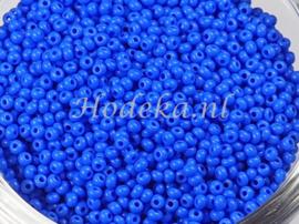 CRP11/49  12 gram Preciosa Rocailles 11/0 Donker Blauw