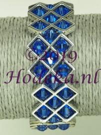 OKP02 Ornamenten kruis armband pakket Blauw