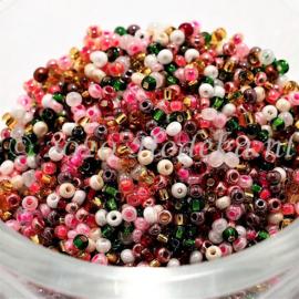 CRP11/84a  50 gram Preciosa Rocailles 11/0 mix
