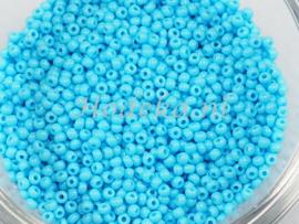 CRP11/44  12 gram Preciosa Rocailles 11/0 Licht Blauw