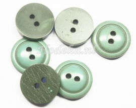 KNO121  1 x knoop Groen ca. 15 mm