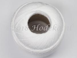 CPG32 Haak, borduur 100% katoen garen 10 gram 85 meter Wit