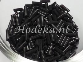 RST15 Rocailles staafjes Zwart 12 gram