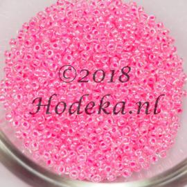 CRP11/71  12 gram Preciosa Rocailles 11/0 donker roze met donker roze kern