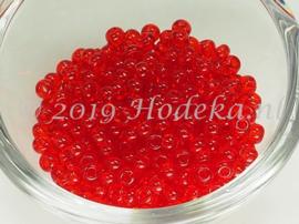 CRP06/58a  50 gram Preciosa Rocailles 6/0   Transparant Rood