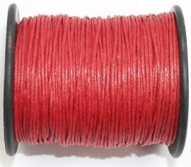 KAD05 katoendraad Rood 1 mm per meter