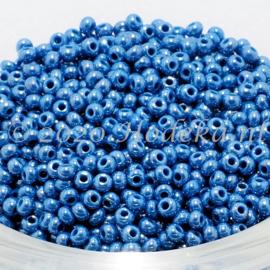 CRP10/82  12 gram Preciosa Rocailles 10/0 Blauw