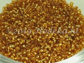 CRP15/41  12 gram Preciosa Rocailles 15/0 Warm Goud