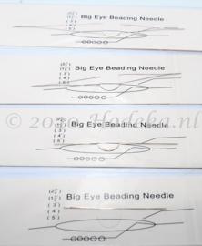 BNN08  Big Eye Beading Needle set