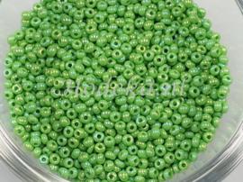 CRP10/58a  50 gram Preciosa Rocailles 10/0 Groen mix