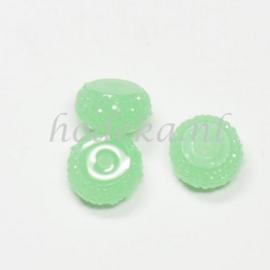RBS10  4 x Rain bead Groen 7x12mm