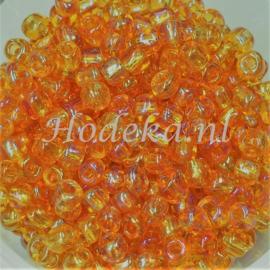 CNR06/06   Rocailles 50 gr.  Oranje parelmoer 6/0