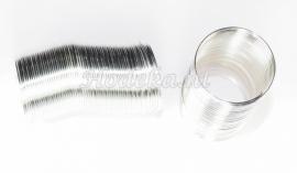 SPR02  Spiraal Zilver kleur