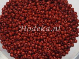CRP11/65  12 gram Preciosa Rocailles 11/0 Bruin