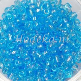 CNR06/09   Rocailles 50 gr. Aqua parelmoer 6/0