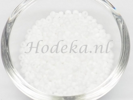 CRP08/45  12 gram Preciosa Rocailles 8/0 Wit