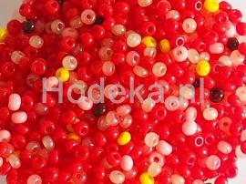 CRP11/23a  50 gram Preciosa Rocailles 11/0 Kleuren mix