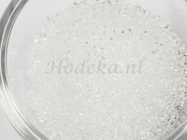 CRP11/38  12 gram Preciosa Rocailles 11/0 Transparant