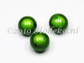MIR18/07  2 x Miraclebead Groen 18mm