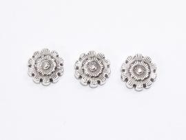 Metalen kraal bloemen