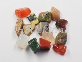 NSG15  12 x Natuursteen kraal Mix