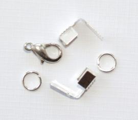CZO01a 3x zakje onderdelen voor ketting **NIEUW**