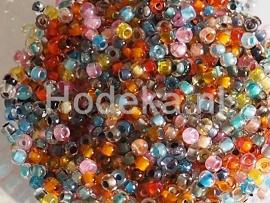CRP10/21  12 gram Preciosa Rocailles 10/0 mix kleuren