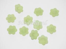 BVE38   3 x Bloem Groen 12 x 4mm