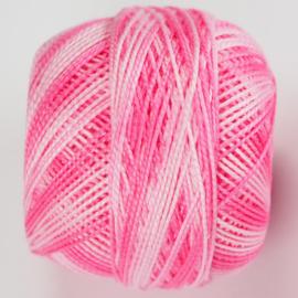 CPG03 Handwerkgaren 100% katoen gemêleerd Roze wit