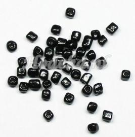 RRH02  15 gram   Rechthoekige/Vierkantige Zwart glans
