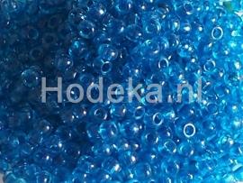 CRP10/24  12 gram Preciosa Rocailles 10/0 Blauw transparant