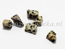 NSG01  12 x Natuursteen kraal  Dalmatier Jaspis