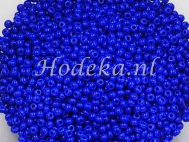 CRP15/04  12 gram Preciosa Rocailles 15/0 Donker Blauw
