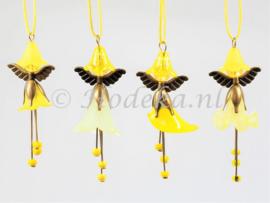 FFP05   Flower Fairies pakket set van 4 geel