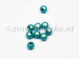 MIR08/23  12 X miracle beads Licht Blauw ca. 8mm