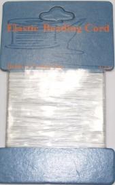 BRE01 Elastisch rijgdraad 0.3 mm