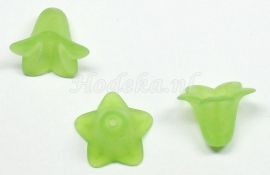 BVE29   3 x Bloem Lime Groen 14 x 17mm
