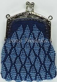 BWP02-05   1 x Brei pakket kralenbeurs Blauw