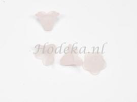 BVE13  3 x Bloem Licht roze 12 x 14mm