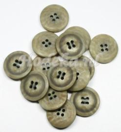 KNO37  1 x  Prachtige Beige knoop ca. 23 mm