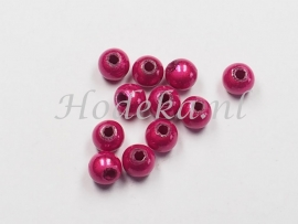 MIR05/13  40 X miracle beads Donker Roze ca. 5mm