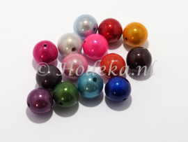 MIR18/11a  25 x Miraclebead mix 18mm