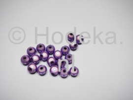 MIR08/08  12 X miracle beads Licht paars  ca. 8mm