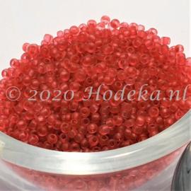 CRP11/82a  50 gram Preciosa Rocailles 11/0 Mat oud roze