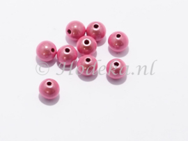 MIR08/30  10 x miracle beads Roze ca. 8mm